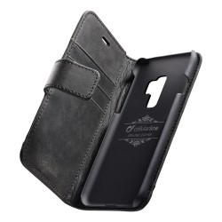 CELLULAR LINE - Étui à rabat Galaxy S9+ SUPREMECGALS9PLK