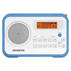 SANGEAN - PR-D18 white blue