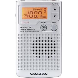 SANGEAN - DT-250 Silver